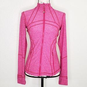 Lululemon Athletica Pink Define Jacket Size 6